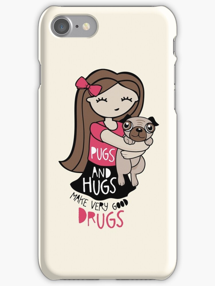 Pugs and Hugs by Amy Grace