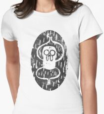 Jake the dog variation 2 Womens Fitted T-Shirt