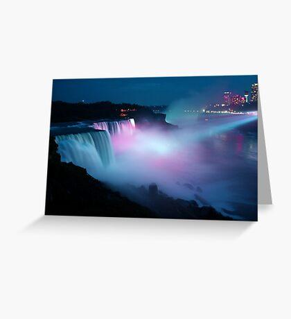 Midnight Mist Greeting Card