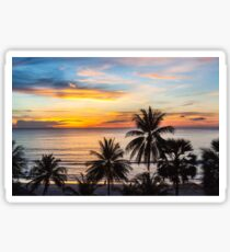 Sunset in Paradise Sticker