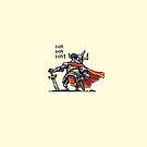 Pompous Knight by oddmaneric