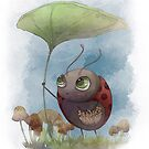 Little Miss Lady Bug von Regenassart