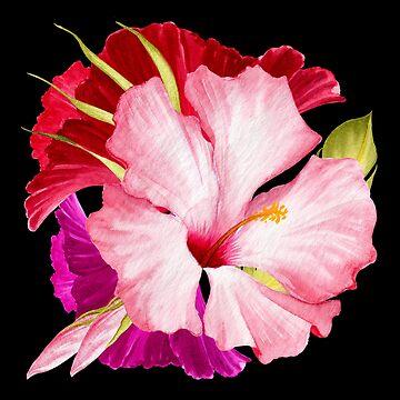 Flower Power - tropischer Stil von M-ohlala
