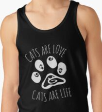 cats are love, cats are life #2 Tank Top
