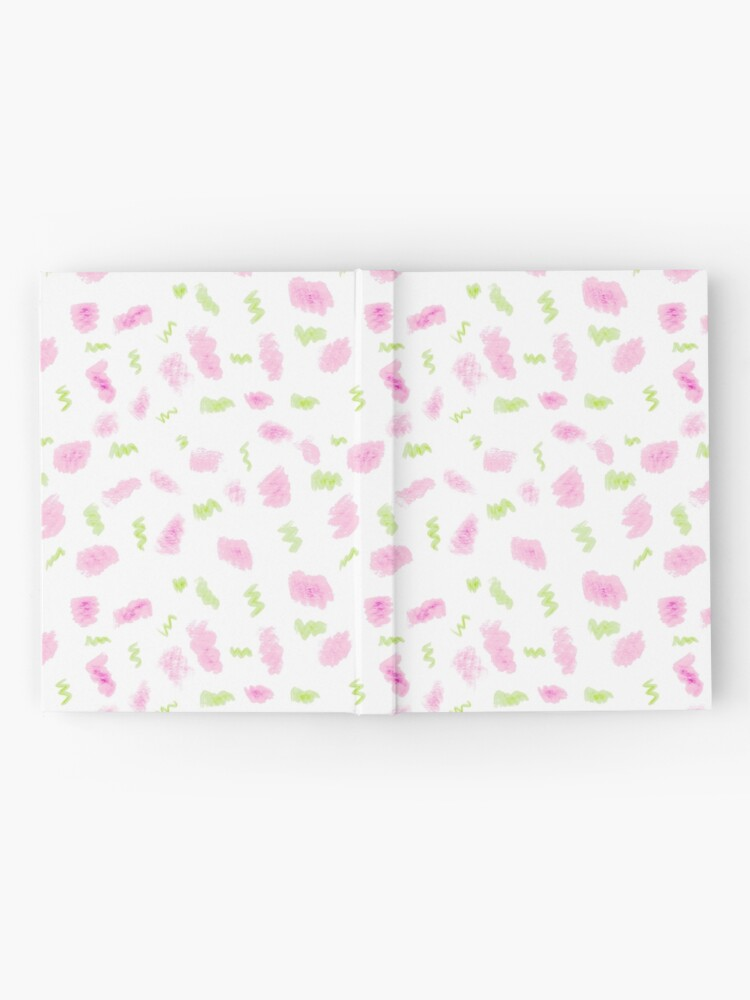Alternate view of Pink and Green Scribbles Hardcover Journal