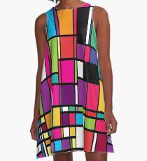 Pop Mod A-Linien Kleid