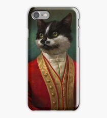 The Hermitage Court Waiter Cat iPhone Case/Skin