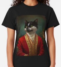 The Hermitage Court Waiter Cat Classic T-Shirt