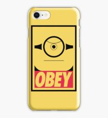 Obeyable Me - Banana Edition iPhone Case/Skin