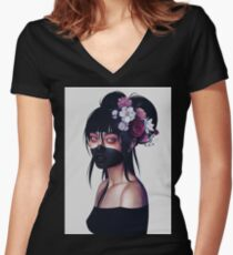 Nyx Fitted V-Neck T-Shirt