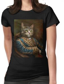 The Hermitage Court Outrunner Cat  Womens Fitted T-Shirt