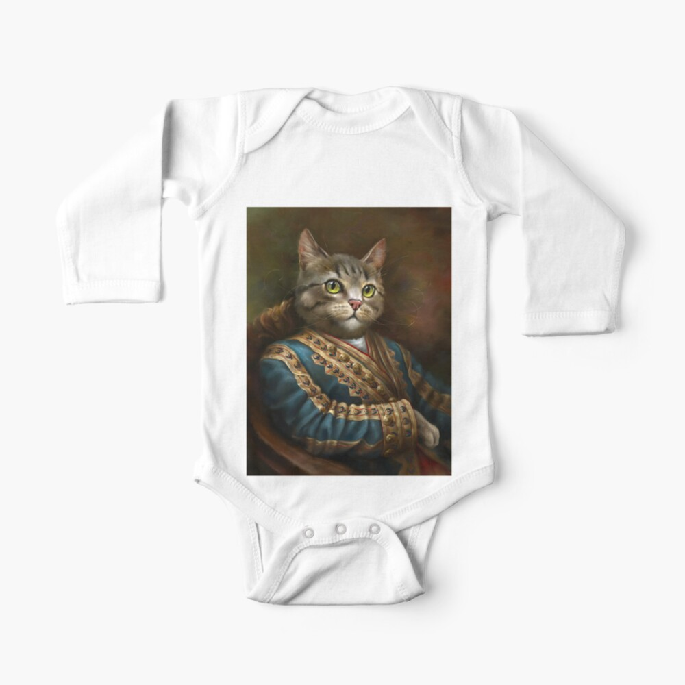 The Hermitage Court Outrunner Cat  Baby One-Piece