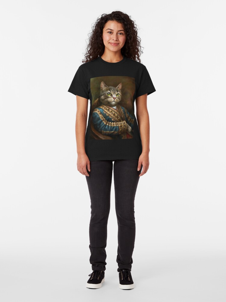 Alternate view of The Hermitage Court Outrunner Cat  Classic T-Shirt