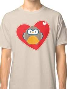 OWL SERIES :: heart hoot 1 Classic T-Shirt