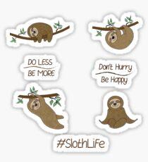Simon the Sloth Sticker Pack Sticker