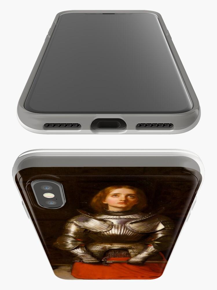 Alternative Ansicht von Jeanne d'Arc iPhone-Hülle & Cover
