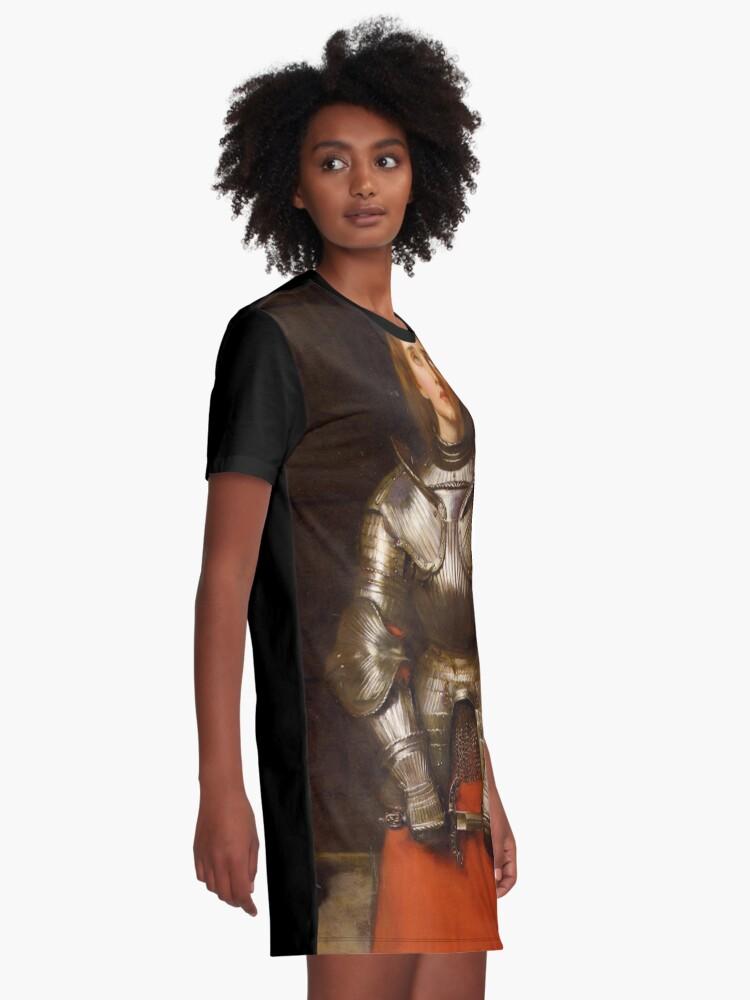 Alternative Ansicht von Jeanne d'Arc T-Shirt Kleid