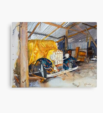 Man Shed Canvas Print