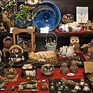 Japanese shopfront, Wise Owls. by johnrf