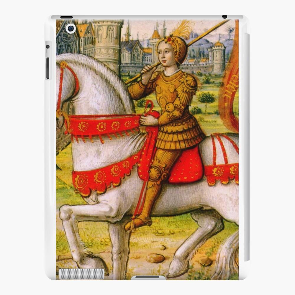 Jeanne d'Arc zu Pferd iPad-Hüllen & Klebefolien