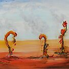 Burning Trio 2 by Steve Campbell
