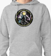 bong ripping astronaut  Pullover Hoodie