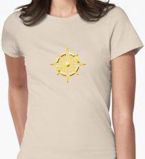 Solar Erhaben Tailliertes T-Shirt für Frauen