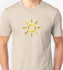 Erhabene Sonnenkaste: Morgenröte Unisex T-Shirt