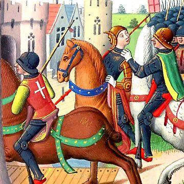 Die Einnahme von Jeanne d'Arc durch die Burgunder. von truthtopower