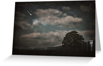 Nightfall in Middle-Earth by Denise Abé