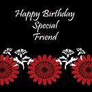 Special Friend Birthday card by sarnia2