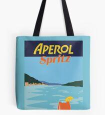 Aperol spritz cocktail italian lake design Tote Bag