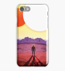 Retro NASA Travel Poster - Kepler 186f iPhone Case/Skin