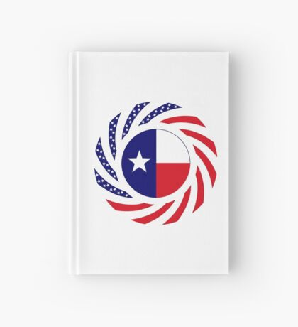 Texan Murican Patriot Flag Series Hardcover Journal