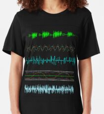 audio shirt Slim Fit T-Shirt