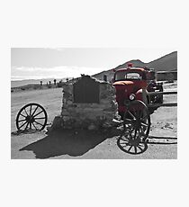 Abandoned Fire Truck, Death Valley Photographic Print