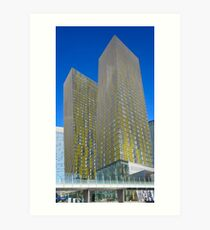 Veer Towers, Las Vegas Art Print