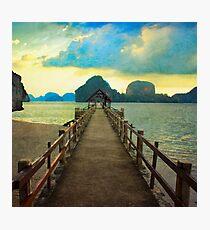 Thailand Dock Photographic Print