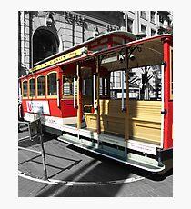 San Francisco Cable Car Photographic Print