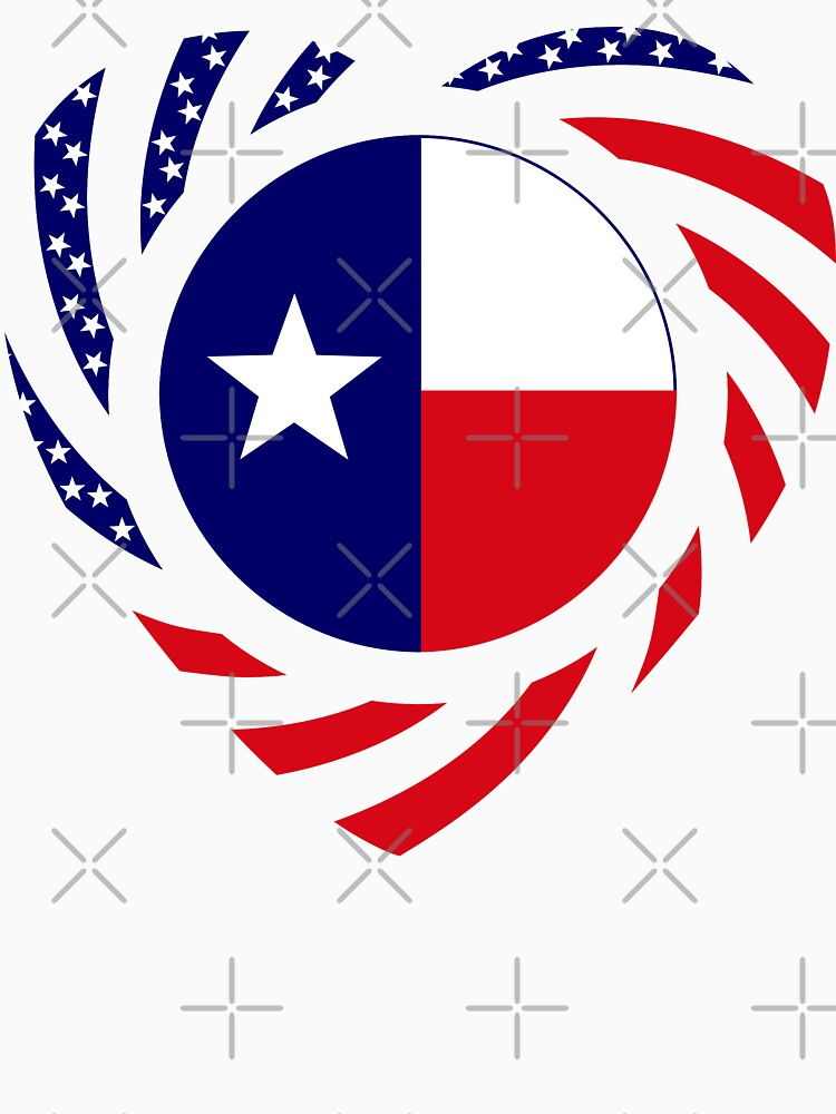 Texan American Murican Patriot Flag Series 2.0 by carbonfibreme