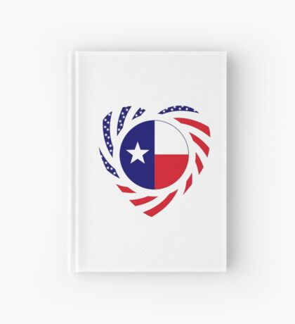 Texan American Murican Patriot Flag Series 2.0 Hardcover Journal