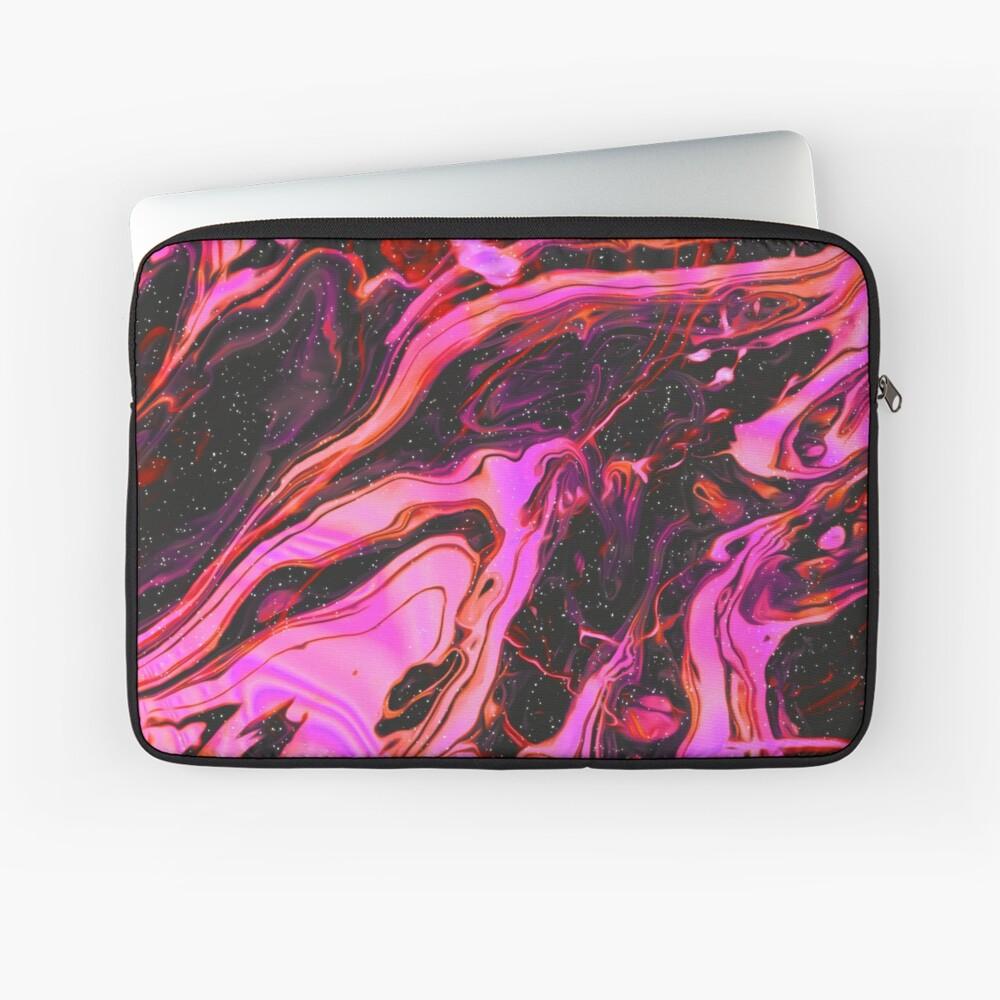 psychedelische Wellen Laptoptasche