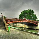 Pont au Double, Paris by Hans Kool