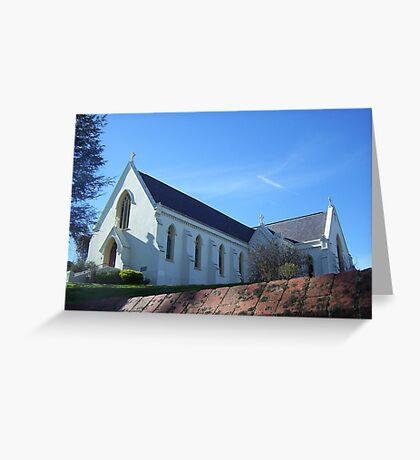 White church Greeting Card