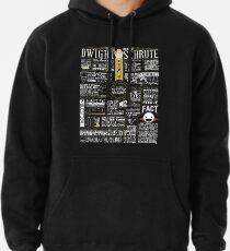 The Wise Words of Dwight Schrute (Dark Tee) Pullover Hoodie