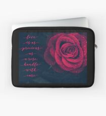 The Rose Laptop Sleeve