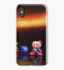 Bomberman - Panic Bomber pixel art iPhone Case