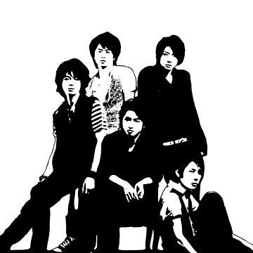 [J-POP DESIGNS] ARASHI BAND by MLNINJA94