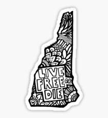 603_LiveFree Sticker