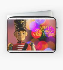 Merry Christmas from toyland, t-shirt Laptop Sleeve